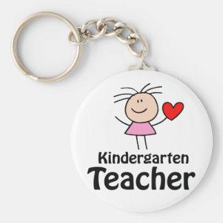 I Herz-Kindergärtnerin Schlüsselanhänger