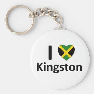 I Herz Kingston (Jamaika) Schlüsselanhänger
