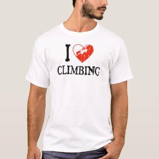 I Herz-Klettern - Mädchen T-Shirt