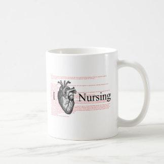 I Herz-Krankenpflege Kaffeetasse