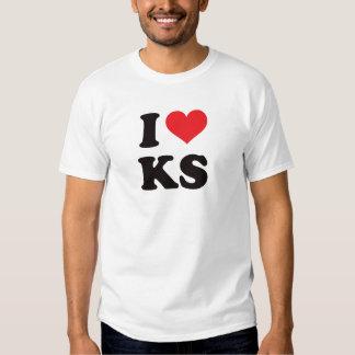 I Herz KS - Kansas T Shirts