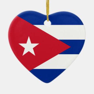 I Herz Kuba! Keramik Ornament