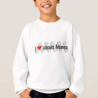 I (Herz) Labrador Retriever Sweatshirt