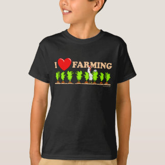 I Herz-Landwirtschaft T-Shirt