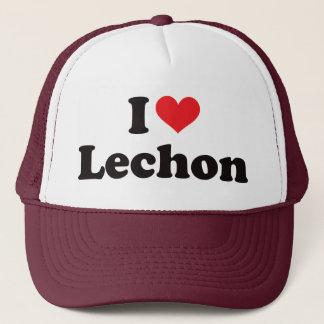 I Herz Lechon Truckerkappe