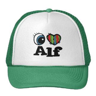 I Herz (Liebe) Alf Baseballkappe