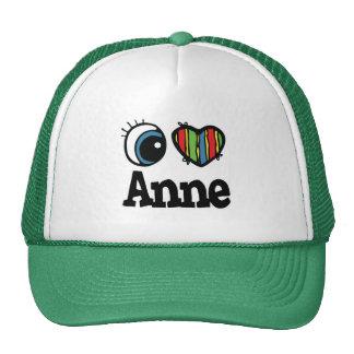 I Herz (Liebe) Anne Retrokappe