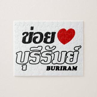 I Herz (Liebe) Buriram, Isan, Thailand Puzzle