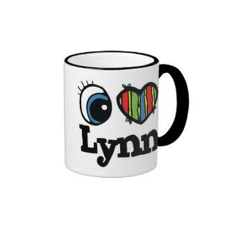 I Herz (Liebe) Lynn Ringer Tasse