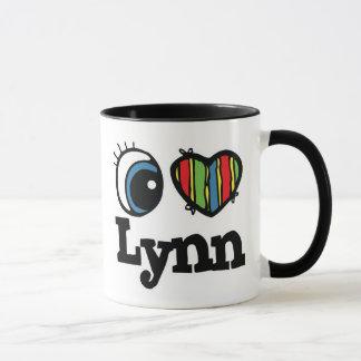 I Herz (Liebe) Lynn Tasse