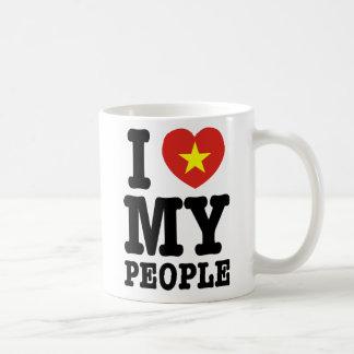 I Herz (Liebe) meine Viet Leute Kaffeetasse