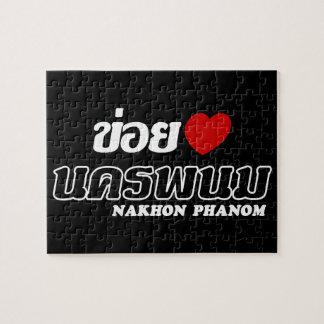 I Herz (Liebe) Nakhon Phanom, Isan, Thailand Puzzle