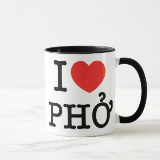 I Herz (Liebe) Pho Tasse