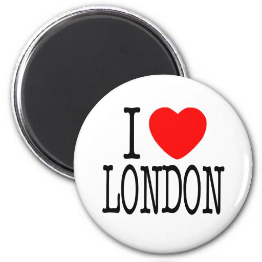 I HERZ LONDON MAGNETS