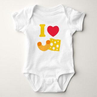 I Herz-Mac und Käse Baby Strampler