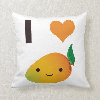 I Herz-Mango Kissen