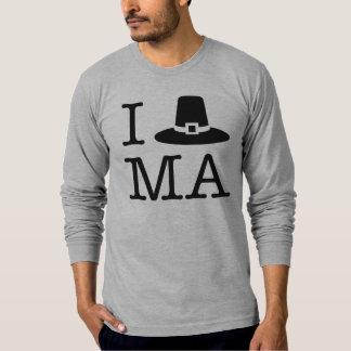 I Herz Massachusetts T-Shirt