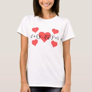 I Herz-Mathe T-Shirt