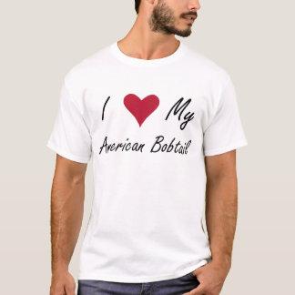 I Herz mein amerikanisches Bobtail Shirt