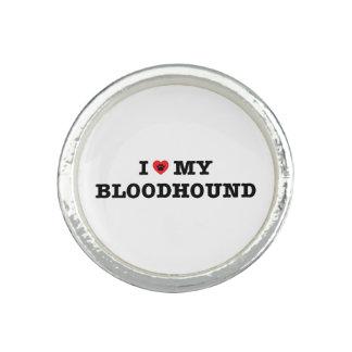 I Herz mein Bluthund-Ring Ring