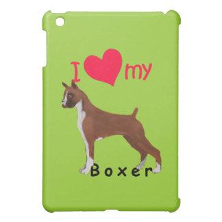 I Herz mein Boxer iPad Mini Hülle