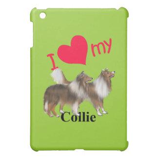 I Herz mein Collie iPad Mini Hülle