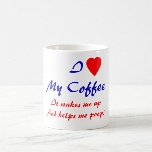 I Herz mein Kaffee Kaffee Tassen