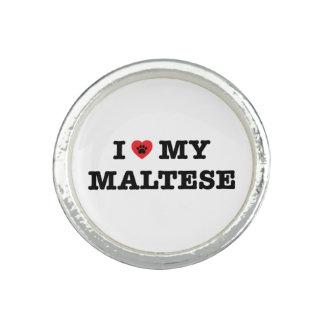 I Herz mein maltesisches Ring