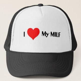 I Herz mein MILF Truckerkappe