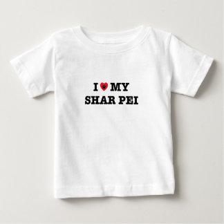 I Herz mein Shar Pei Baby T-shirt