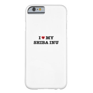 I Herz mein Shiba Inu iPhone Fall Barely There iPhone 6 Hülle