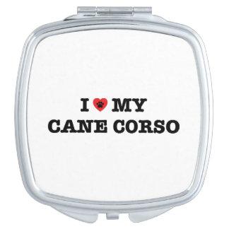 I Herz mein Stock Corso kompakter Spiegel Schminkspiegel
