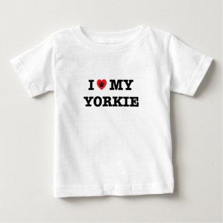 I Herz mein Yorkie Baby T-shirt