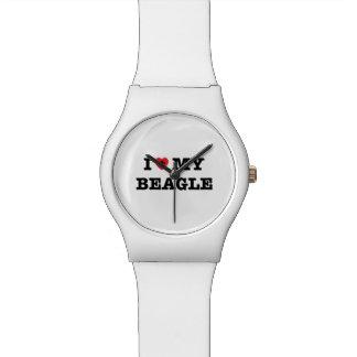 I Herz meine Armbanduhr des Beagle-May28th