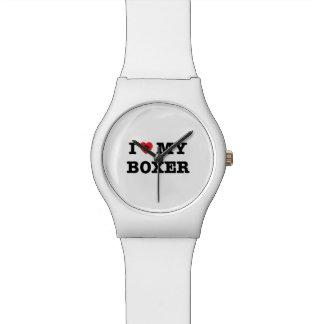 I Herz meine Armbanduhr des Boxer-May28th