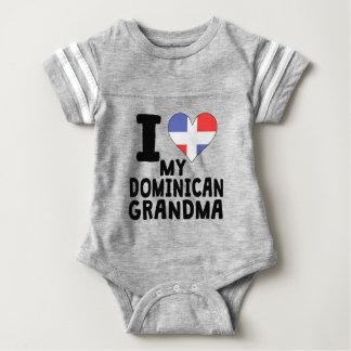 I Herz meine dominikanische Großmutter Baby Strampler