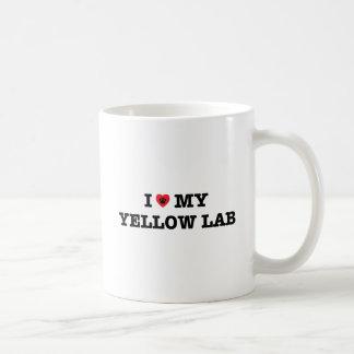 I Herz meine Labrador-Kaffee-Tasse Kaffeetasse
