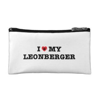 I Herz meine Leonberger Kosmetik-Tasche Kosmetiktasche
