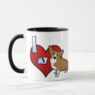 I Herz meine Pembroke-Walisercorgi-Tasse Tasse