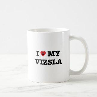 I Herz meine Vizsla Kaffee-Tasse Kaffeetasse