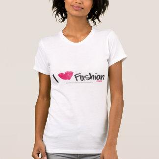 I Herz-Mode-Magenta T-Shirt