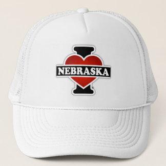 I Herz Nebraska Truckerkappe