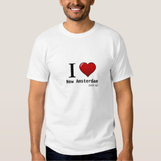 I (Herz) New Amsterdam, ANZEIGE 1625 Hemden