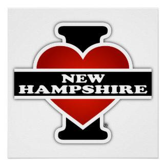 I Herz-New Hampshire Poster