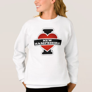 I Herz-New Hampshire Sweatshirt