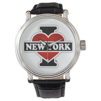 I Herz New York Armbanduhr
