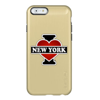I Herz New York Incipio Feather® Shine iPhone 6 Hülle