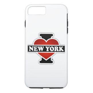 I Herz New York iPhone 8 Plus/7 Plus Hülle