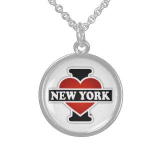 I Herz New York Sterling Silberkette