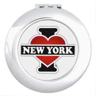 I Herz New York Taschenspiegel
